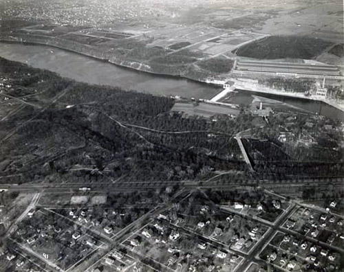 Pre Ford Bridge Longfellow and Highland