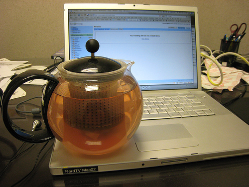 Tea on Macbook