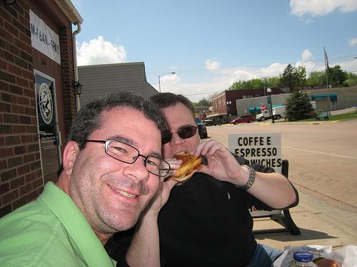 Ed & Ben in Watertown