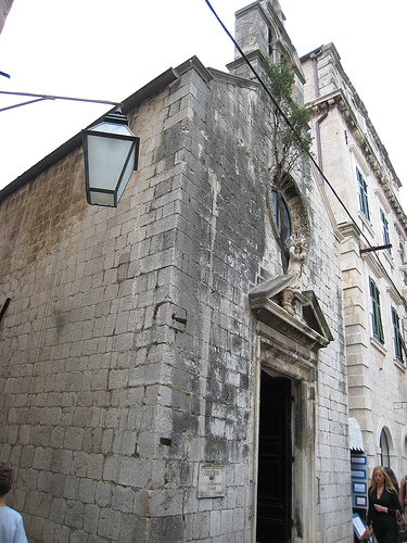 A Dubrovnik Church