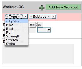 Workoutlog