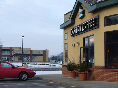 2 Caribou Coffee Locations