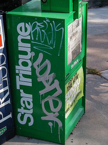 Star Tribune Graffiti