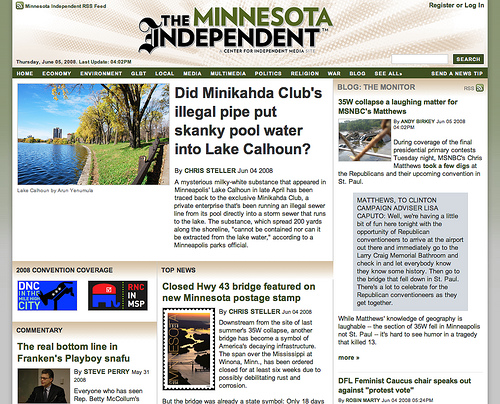 The Minnesota Independent