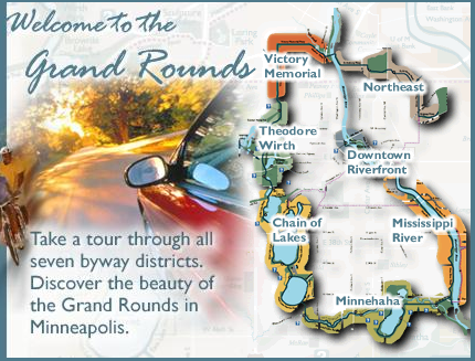 Minneapolis Grand Rounds Map