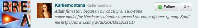 Karlie Montana on Twitter