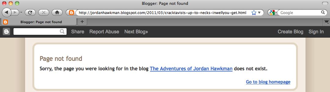 Paul Koenig Interview Deleted from Jordan Hawkman Group Blog
