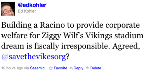 Zygi Wilf's Corporate Welfare
