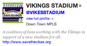 Josh Hewitt @VIKESSTADIUM on Twitter