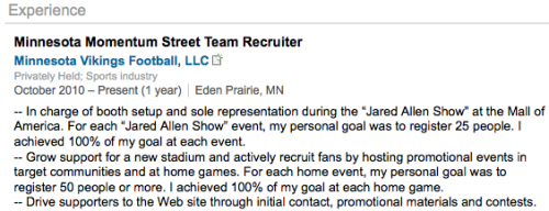 Minnesota Momentum Street Team Recruiter Job Description