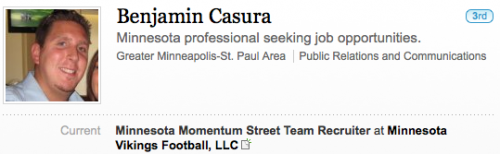 Minnesota Momentum Street Team Recruiter