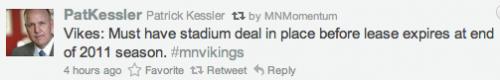 @MNMomentum Retweeting Vikings Hostage Threats