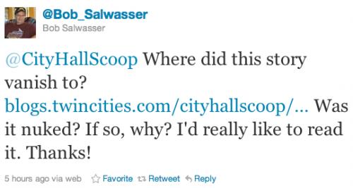 @Bob_Salwasser Questions @cityhallscop