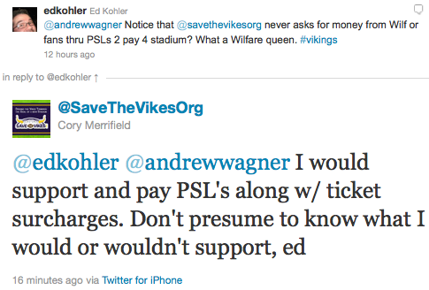 @edkohler @andrewwagner I would support and pay PSL's along w/ ticket surcharges. Don't presume to know what I would or wouldn't support, ed