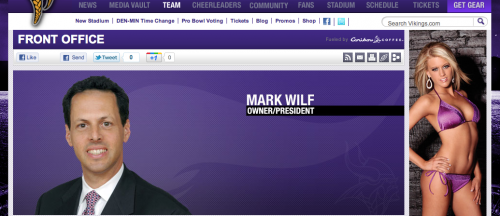 Mark Wilf Minnesota Vikings