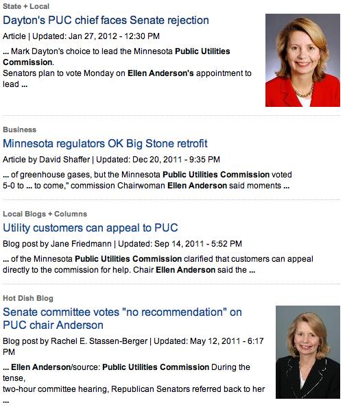 """StarTribune.com """"Public Utilities Commission"""" """"ellen anderson"""""""