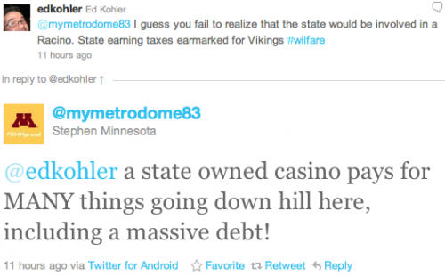 @edkohler a state owned casino pays for MANY things going down hill here, including a massive debt!