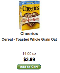 Cheerios at Lunds & Byerly's