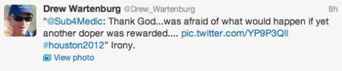 Drew Wartenburg @Drew_Wartenburg Tweet