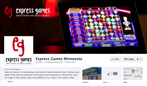Express Games Minnesota on Facebook