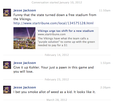 Jesse Jackson on Vikings Stadium #wilfare