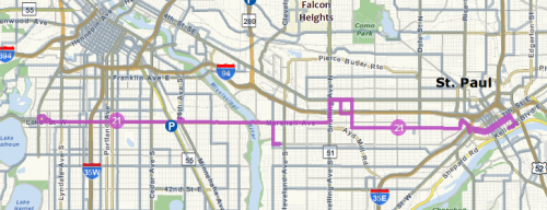 Interactive 21 Route