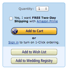 Amazon Free Shipping Upsell
