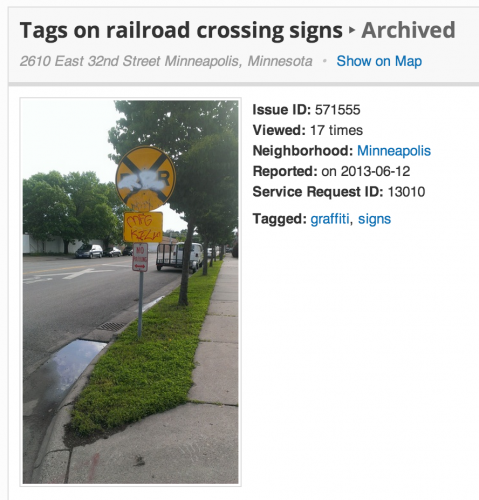Initial Railroad Tag Report